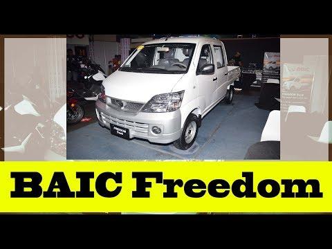 BAIC Freedom: Euro-4 engine that is affordable business hauler vehicle