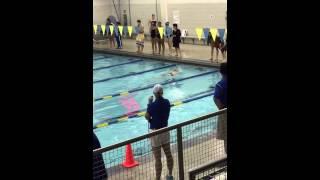 2014 SL swim meet vs allen HS