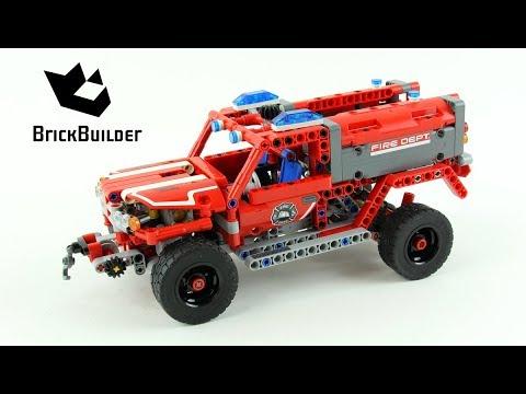 Vidéo LEGO Technic 42075 : Véhicule de premier secours