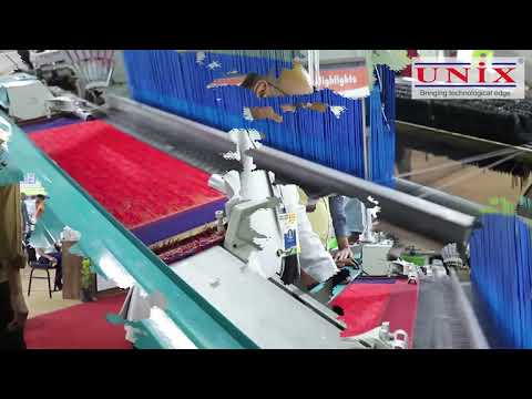 UNIX High Speed Electronic Jacquard Rapier Loom
