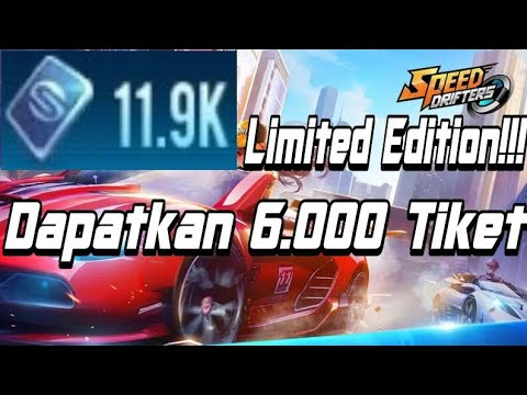 LIMITED EDITION!!! 6.000 Tiket  Speed Drifters