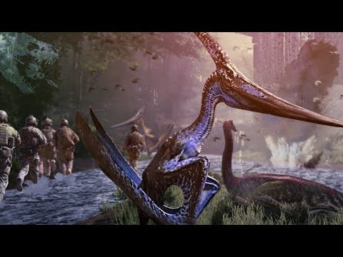 WE HEARD THE BATTLE OF MAN AND MONSTERS! - The Isle - Decoding The Terminal & Pteranodon! - Gameplay