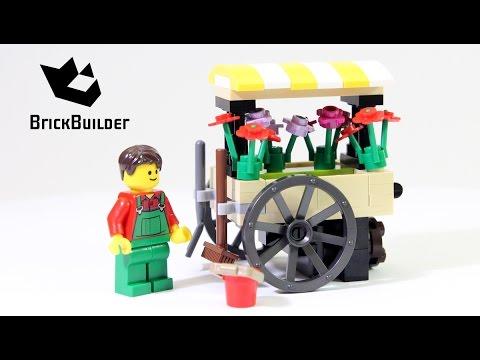 Vidéo LEGO Creator 40140 : La Wagon à Fleurs