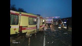 На Кубани в ДТП со скорой помощью погибли шесть человек, из них двое — дети