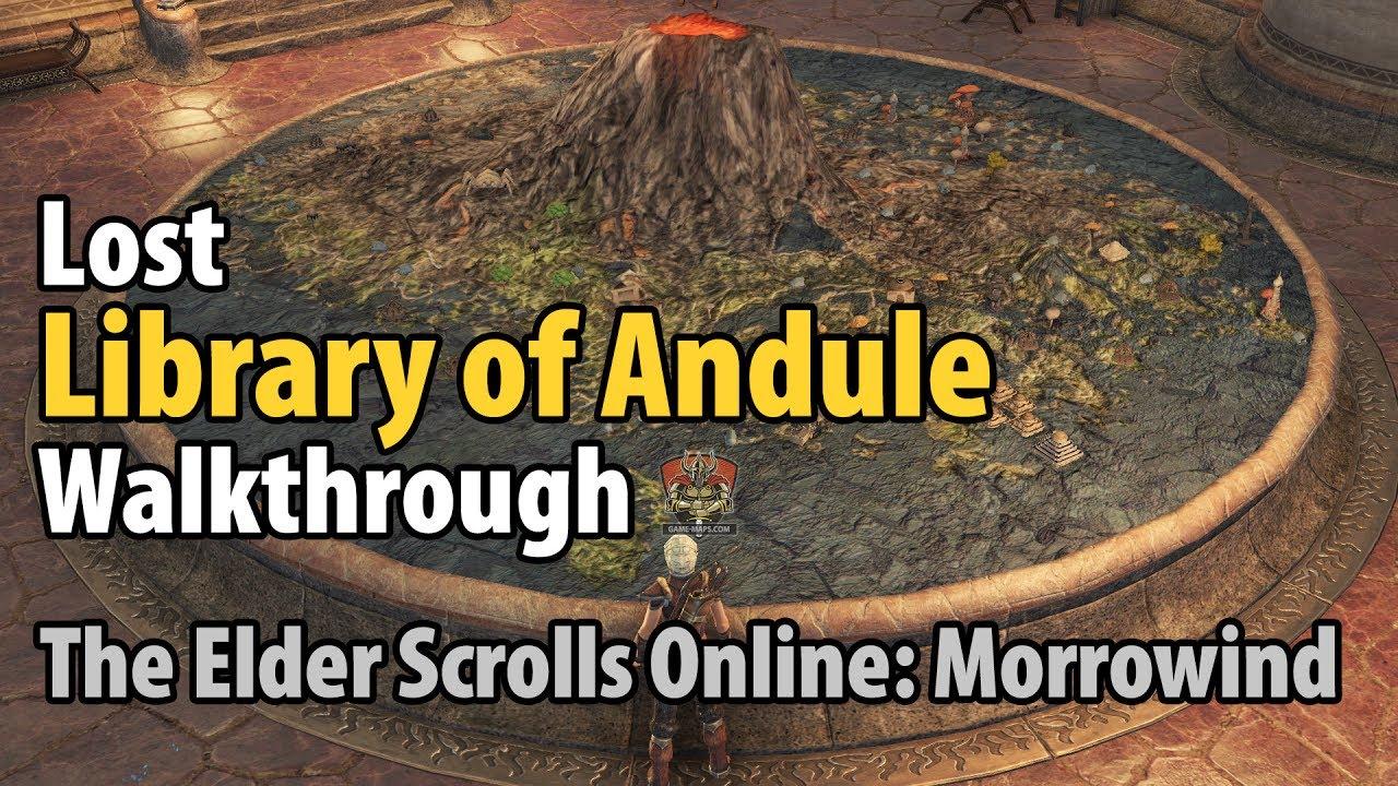 Video Lost Library of Andule Walkthrough