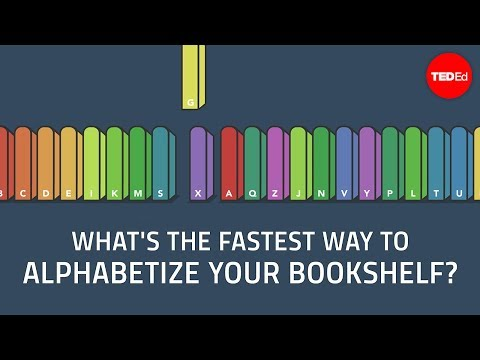 The Fastest Way To Alphabetise Your Bookshelf