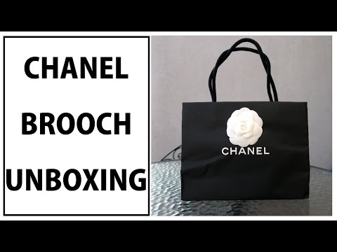 CHANEL CLASSIC CC BROOCH UNBOXING | SS17 PRE COLLECTION