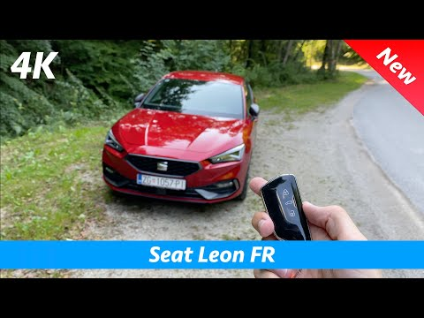 Seat Leon FR 2020 - FULL in-depth review in 4K | SURROUND ambient lights!