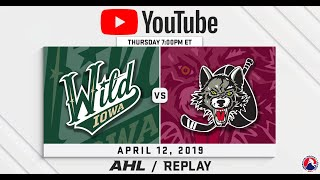 AHL Replay: Wolves vs. Wild | Apr. 12, 2019