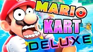 MARIO KART 8 DELUXE !! OMG !! | Nintendo Switch