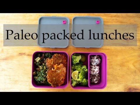 Video Three Paleo / HFLC packed lunch ideas