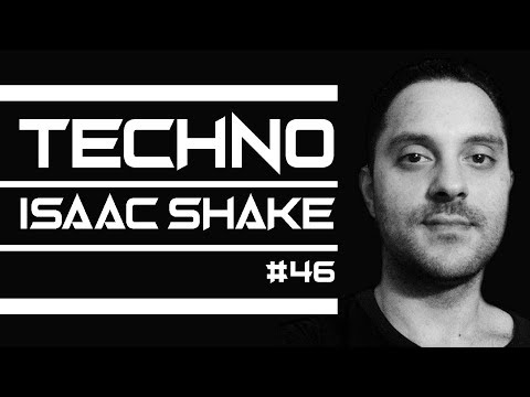 TECHNO Music by Isaac Shake - DJ MIX in live (Techno Oscuro) 46 + tracklist on video