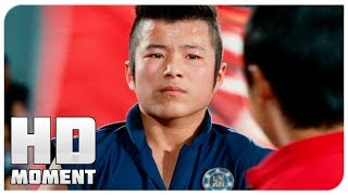 Чэн вышел в финал - Каратэ-пацан (2010) - Момент из фильма
