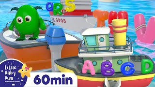 ABC Vehicles Song +More Nursery Rhymes and Kids Songs   Little Baby Bum