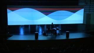 "Ars Electronica 2009: alva noto: ""Unitxt Derivative Version"" (Part 2)"