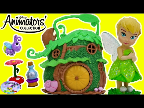 Disney Animators Collection Tink Micro Set Tinkerbell Fairy Surprise Egg and Toy Collector SETC