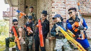 Video LTT Game Nerf War : Warriors SEAL X Nerf Guns Fight Inhuman Group Car Thief MP3, 3GP, MP4, WEBM, AVI, FLV September 2019