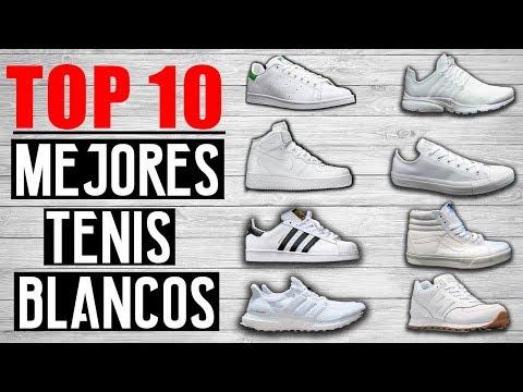 TOP 10  MEJORES TENIS BLANCOS DEL MUNDO 2017 | JR Style For Men