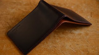 Making A Leather Wallet - Artisan Handwork In Detail