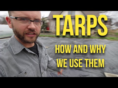 IN FOCUS: TARPS - How and why we use them.