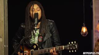 Musician Jovi Rockwell Performs All About Love (Live)