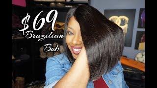 CocoBlackHair.com   $69 Brazilian Lace Virgin Hair Bob
