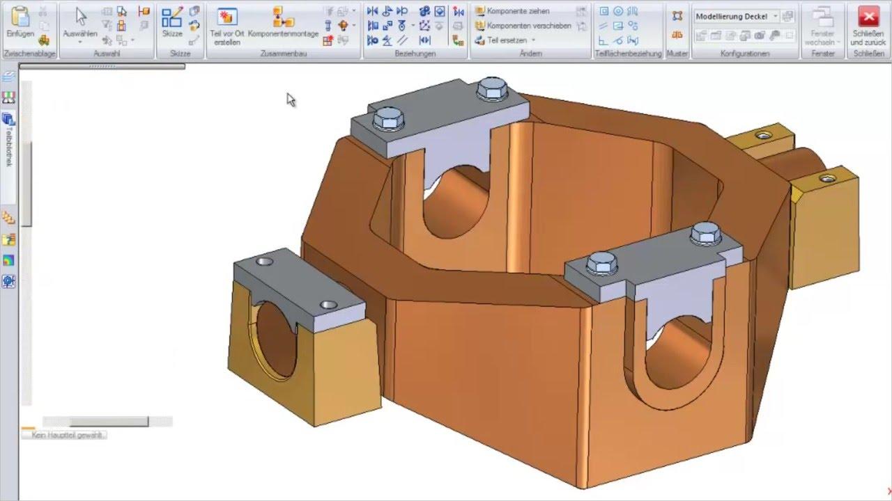 Vorschaubild: Solid Edge: Konstruktion im Zusammenbau