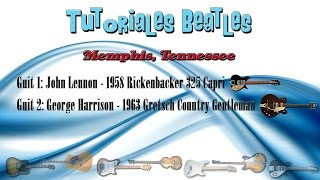 Tutoriales Beatles - Memphis, Tennessee - Lesson & Cover NEW!