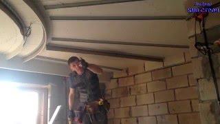 Потолки из гипсокартона ( солнышко ) часть 3 / plasterboard ceilings (sun) Part 3
