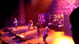 Anthrax 11/13/11 New york Earth on hell
