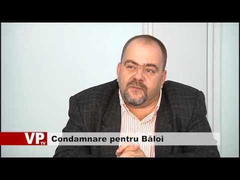 Închisoare cu suspendare, pentru Băloi