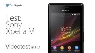 Sony Xperia M   Test in deutsch (HD)