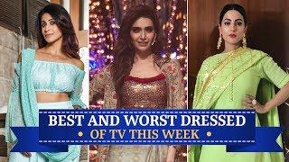 Hina Khan, Karishma Tanna, Krystle Dsouza: TV's Best and Worst Dressed of the Week | Kholo.pk