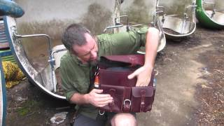 preview picture of video 'At Abandon African Amusement Park Demo of Front Pocket Briefcase'
