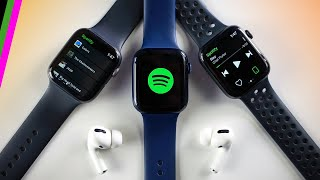 Apple Watch Spotify Streaming // How it Works + What You Can and Can't Do (Jan 2021)