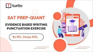 Punctuation | Evidence Based Writing | Turito | SAT Prep | English