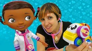 Доктор Плюшева и другие Машины Игрушки в видео для детей Капуки Кануки #ПолныйПорядок