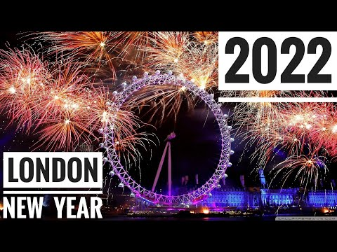 London Happy New Year 2019 Eve Best Celebration Fireworks Show in World Welcome 2019 in Big Ben BBC