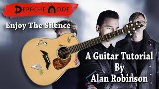 Enjoy the Silence - Depeche Mode - Acoustic Guitar Lesson (Ft. my son Jason on lead etc.)
