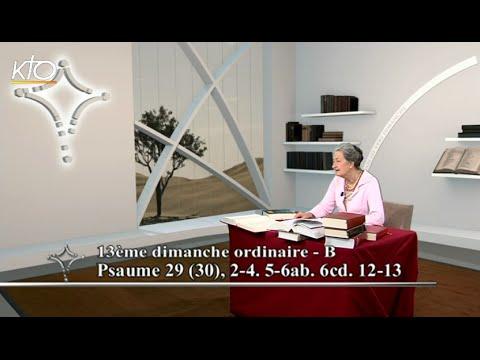 13e dimanche ordinaire B - Psaume