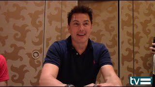 "Сериал ""Стрела"", John Barrowman Interview - Arrow Season 4"