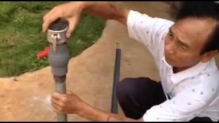Hướng dẫn chôn ống sử dụng béc di chuyễn