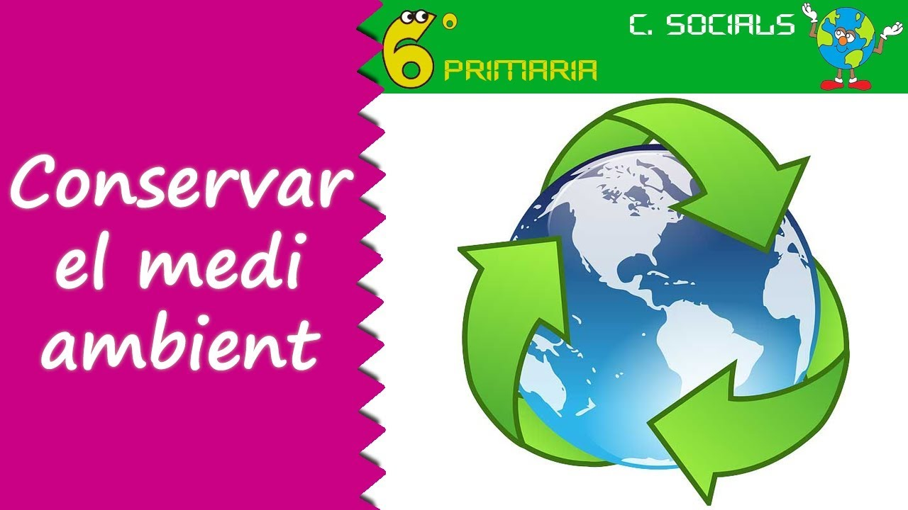Conservació del medi natural. Socials, 6é Primària