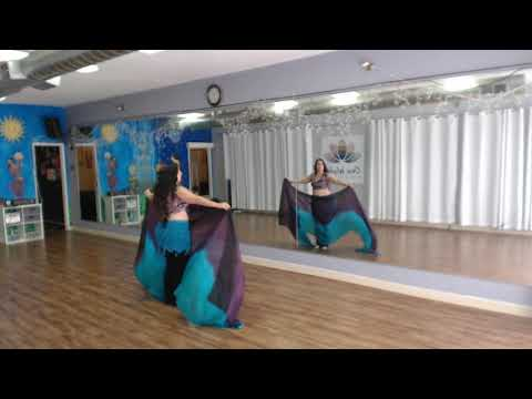 ⭐Belly Dance:  Tips for Veil Flips⭐
