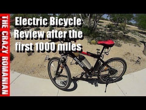 Ancheer Electric Bicycle Review after the first 1000 miles AKA Eshion Cyclamatic