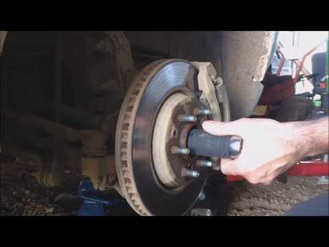 Daily Log - 2008 Chevy Uplander Bearing Replacement