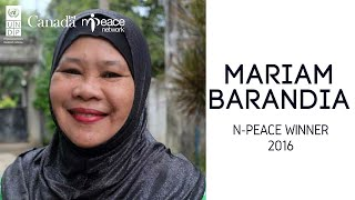Congratulations to the Philippines Mariam Barandia one of the UntoldStories winners of