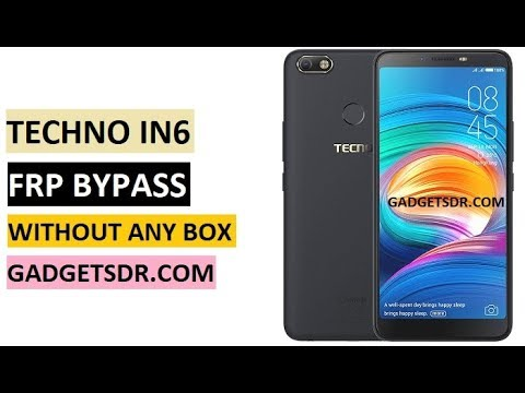 Tecno IN6 Frp Lock Reset Success With One CLick By Miracle
