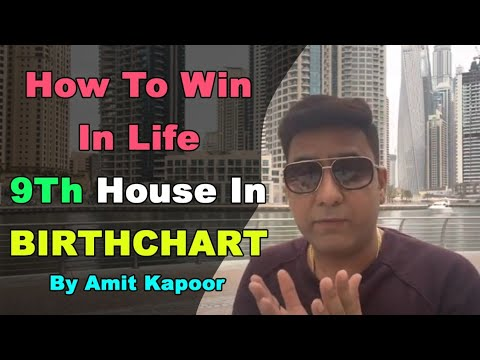 How To Win In Life | 9Th House In BIRTHCHART BY #ASTROLOGERAMITKAPOOR