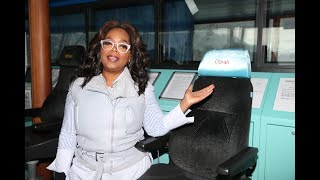 Oprah had the time of her life on HAL Alaska cruise